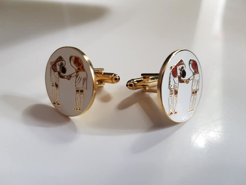 F.T.C Badgepin + cufflinks - product images  of