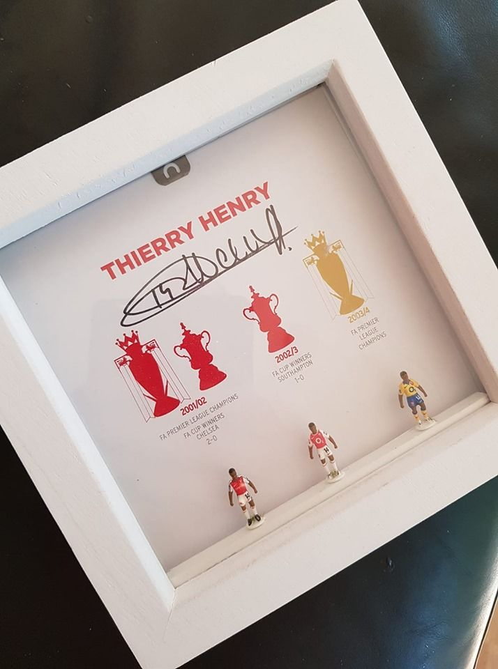 Signed Henry Subbuteo box set - Limited Edition - product images  of