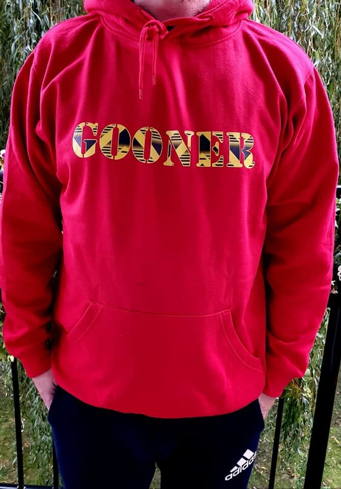 Hoddie Gooner x Bruised banana (Red) - product image