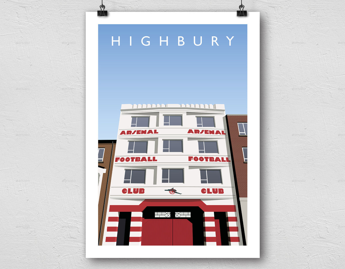 West Stand Highbury - product image