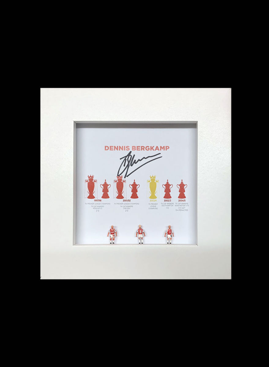 Bergkamp Signed Subbuteo Frames - product images  of