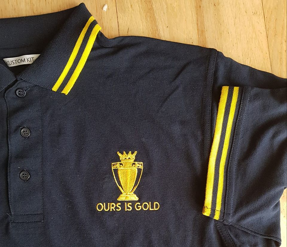 Ours Is Gold (Navy and yellow) - product image