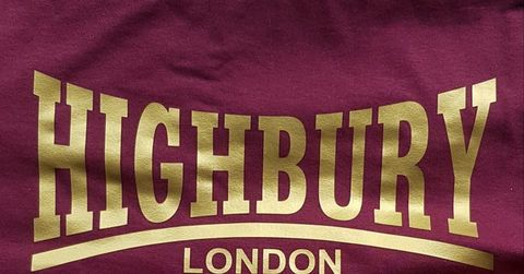 Highbury,T-shirt,(Redcurrent)