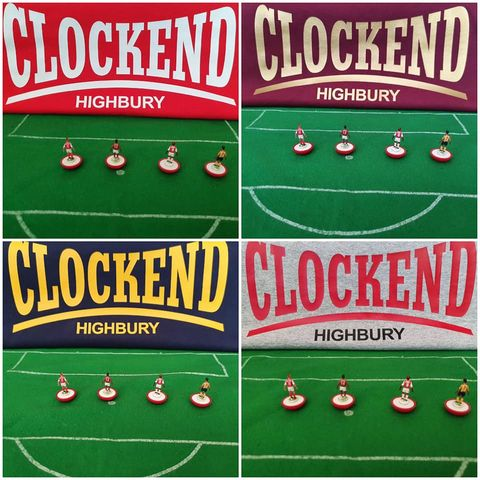 Clockend,Highbury,T-shirts