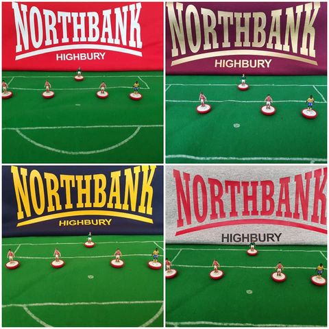 Northbank,Highbury,T-shirts