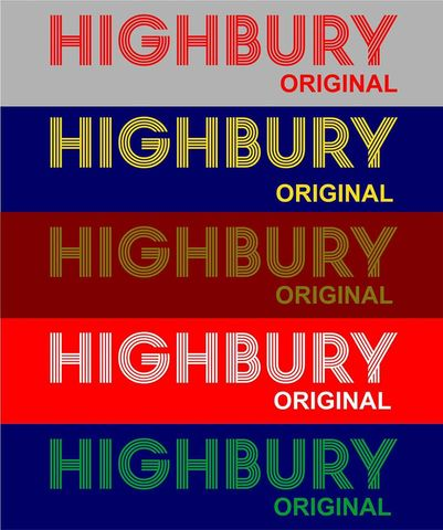 Highbury,Original,T-shirts