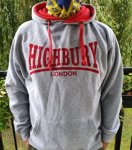 Hoodies,-,Highbury,(Grey,Red,Navy+Redcurrent)
