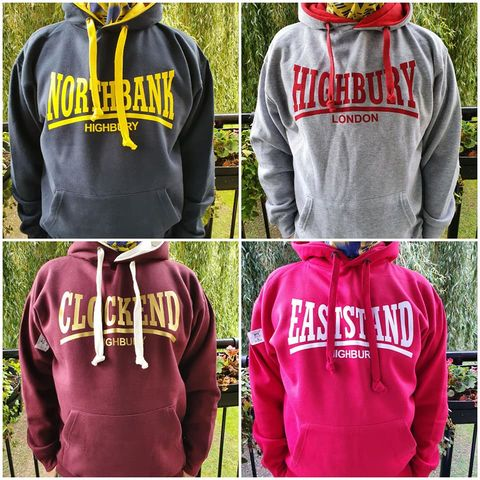 Hoodies,-,West,Stand,(Grey,Red,Navy+Redcurrent)