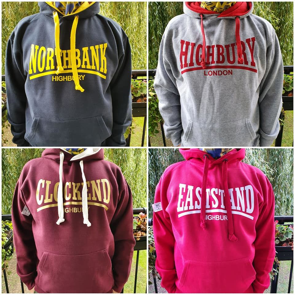 Hoodies - Clock End (Grey,Red,Navy+Redcurrent) - product images  of