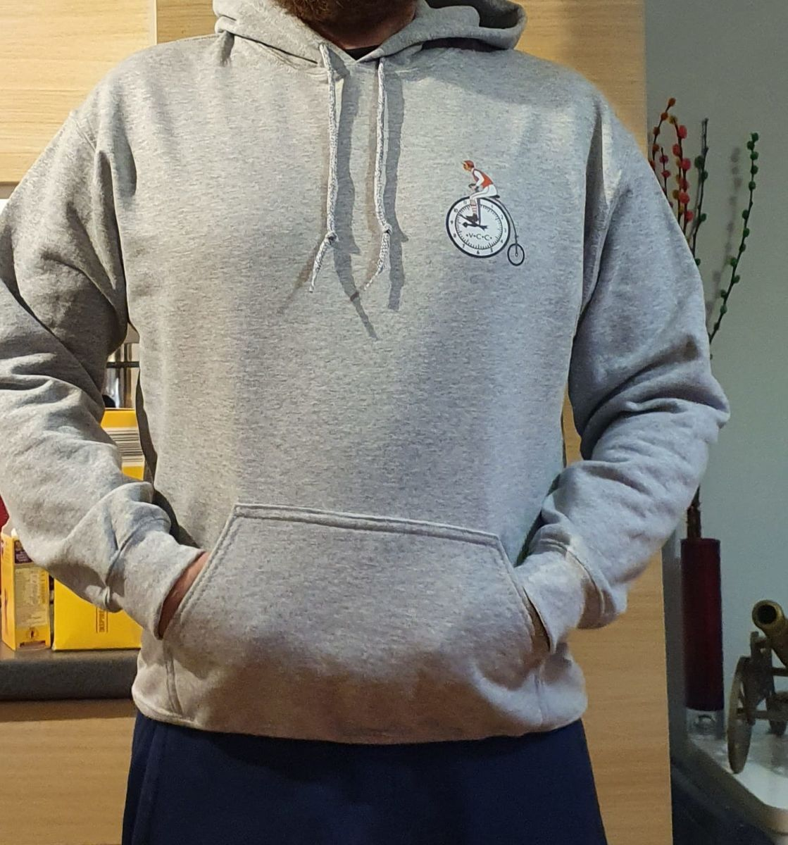 VCC Sports grey hoodies - product image