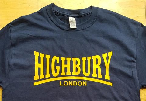 Highbury,T-shirt,(NAVY)