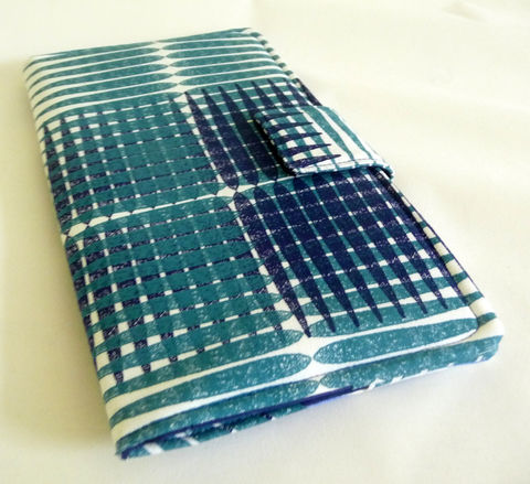Soft,Book,Style,Nexus,7,Cover,,Blue,Plaid,book style nexus 7 cover, handmade nexus 7 tablet cover, plaid cover for nexus 7, soft book style cover for nexus 7 tablet