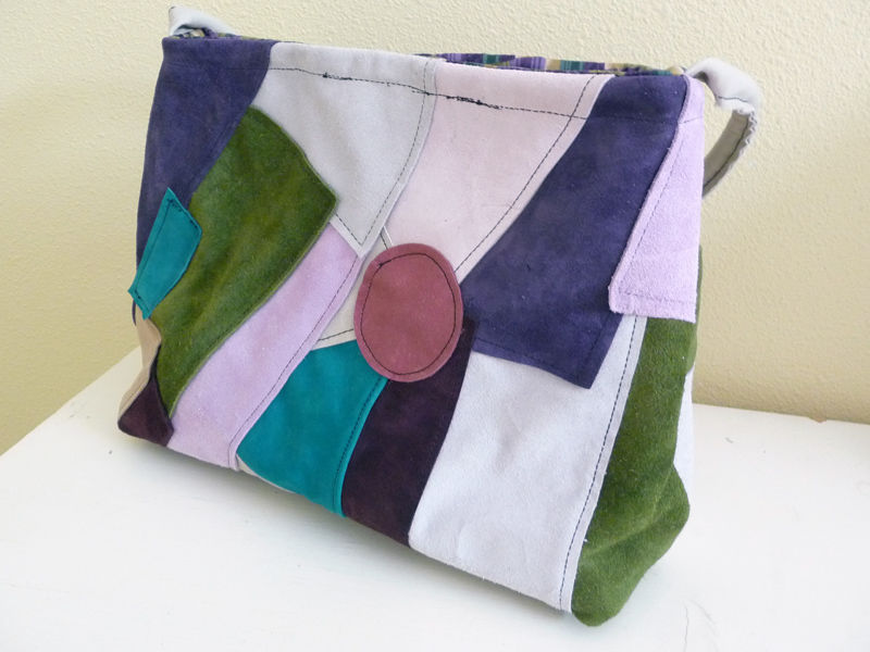 Patchwork Leather Shoulder Bag - product images  of