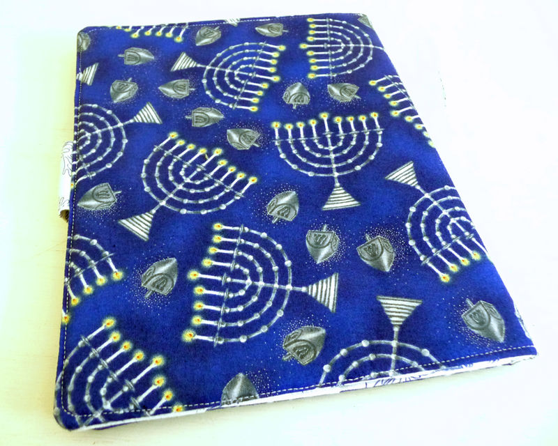 Hanukkah Print iPad 2 Cover, book style - product images  of