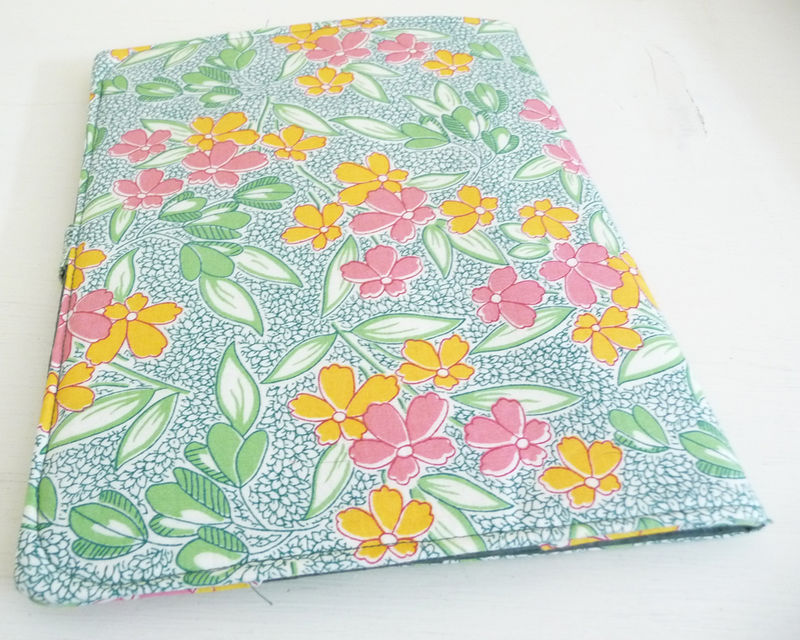 Retro Style Floral Print iPad 1 Cover - product images  of