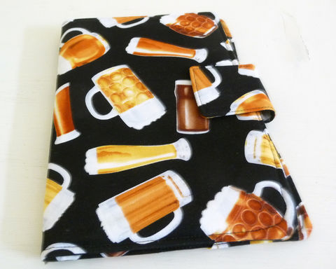 Mugs,of,Beer,Nook,Color,or,Tablet,Cover,nook color cover, nook tablet cover, mens nook color cover, mugs of beer themed nook cover
