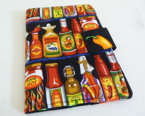 Hot,Sauce,Nook,Color,or,Tablet,Cover,nook color cover, nook tablet cover, mens nook color cover, hot sauce nook color cover, case for nook color