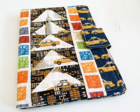 Patchwork,Nook,HD,Cover,,New,York,City,Theme,nook hd cover, nook hd case, handmade nook hd cover, patchwork nook hd cover, new york city nook hd cover