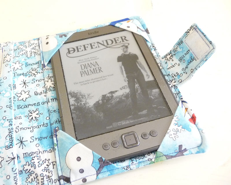 Winter Snowmen Kindle 4 or 5, Kindle Voyage, or Kobo Touch Cover - product images  of