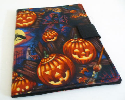 Traditional,Halloween,Pumpkins,iPad,2,Cover,,Soft,Book,Style,handmade ipad 2 cover, handmade ipad cover, soft book style cover, ipad 2 case, ipad 3 case, halloween ipad 2 cover, handmade hallown ipad case, halloween ipad 2 case