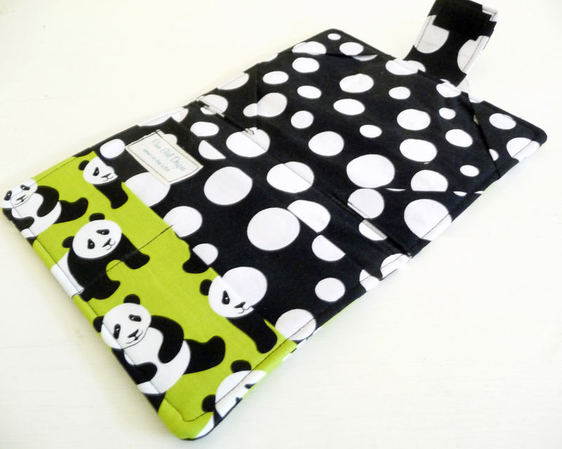 Panda Bear eReader Cover fits Kindle 4 or 5, Kindle Voyage, Kobo Touch - product images  of