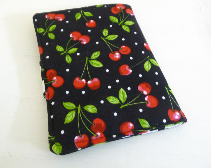 Retro Cherry Kindle eReader Cover fits Kindle 4 or 5 and Voyage, Kobo Touch - product images  of