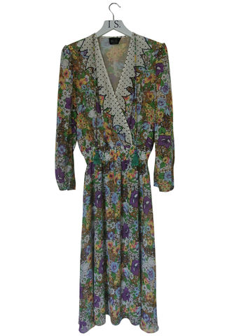 DIANE,FREIS,VINTAGE,FLORAL,BOHO,DRESS,vintage Diane Freis boho dress, vintage Diane Freis dress, vintage print dress, vintage dress, designer vintage dress, boho dress, vintage boho dress, vintage clothing, vintage clothes, vintage clothes online, women's vintage clothing, women's clothing, f