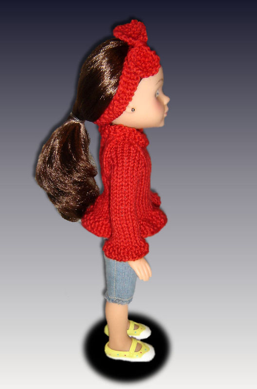 Knitting Pattern. Sweater fits Hearts for Hearts Doll.  242 - product images  of