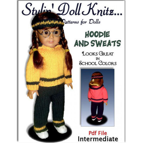 Hoodie,and,Pants,Knitting,Pattern.,Fits,American,Girl,Doll.18,inch.,PDF,AG,021,Patterns,Doll_Clothing,doll_clothing,american_girl_doll,children,stylin_doll_knitz,top_down_pattern,knitting_pattern,doll_clothes_pattern,AG_doll_pattern,18_inch_doll,Gotz_knit_pattern,pdf_knitting_pattern,doll_knit_pattern,Maplelea_girl,pdf_pattern,knitt