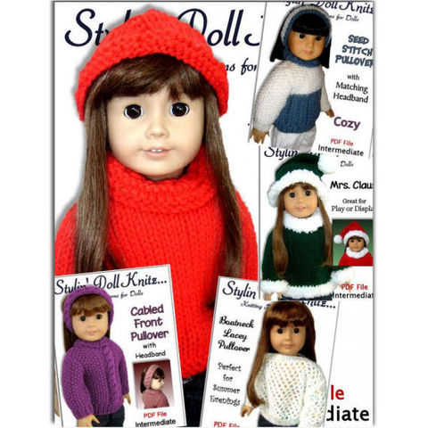 Knitting,Patterns,,DIY,Sweaters,for,American,girl,and,18,inch,doll,,knit,clothes.,01,Patterns,Doll_Clothing,handmade,knitting,accessories,children,american_girl_doll,kids,holiday,knitting_supplies,girls,Gotz,knitting_patterns,doll_clothes_pattern,pdf_knit_patterns,pdf,patterns