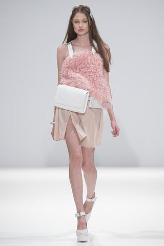 ALICE,SHORTS, pink, harness, top, alice, shorts, JWH, SPRING, SUMMER, 2015, ss15, Jamie, Wei, Huang