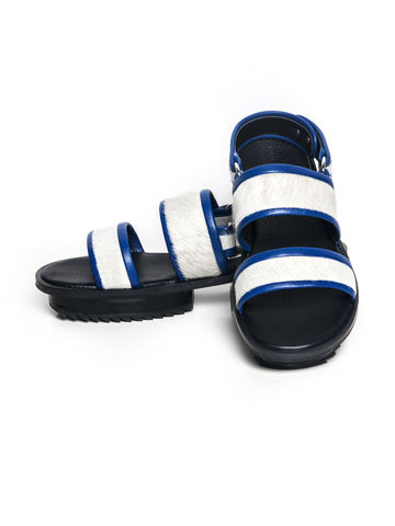 IN,STOCK,-,NIBBANA,LEATHER,SANDAL,(BLUE)