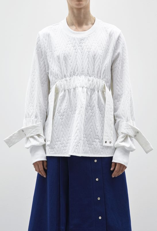 IN STOCK - RICARDA GATHER JUMPER - product image