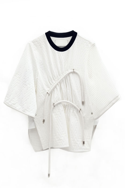 IN STOCK - ESTHER CONTRAST SLEEVE JUMPER - product image