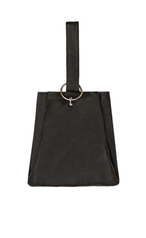 IN STOCK - CLAIRE LEATHER SNACK BAG - product image
