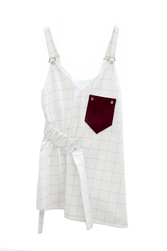 IN STOCK - ETTA GATHER STRAP VEST - product image