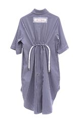 IN STOCK - ALICE EMBROIDERY STRIPE SHIRT DRESS - product images 4 of 4