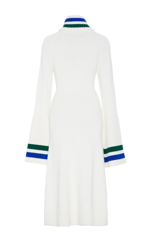 NEW IN STOCK - CASHMERE BELL SLEEVE DRESS - product image