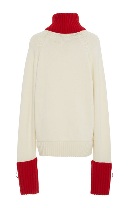 NEW IN STOCK - CASHMERE TURTLE NECK JUMPER - product image