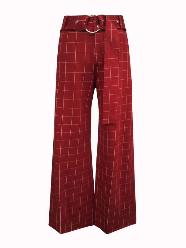 NEW IN STOCK - LAUREN CHECK TROUSERS - product image