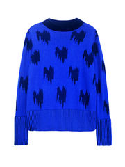 JACQUARD CASHMERE JUMPER - product images 1 of 3