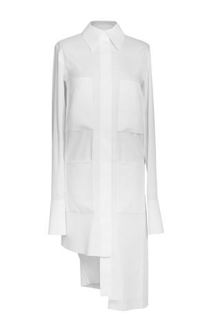 NEW,IN,STOCK,-,WHITE,SHIRT,DRESS,Jamie Wei Huang, AW17, Autumn Winter, Dress, WHITE SHIRT DRESS, White