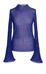 NEW IN STOCK - BLUE JERSEY TOP - product images  of
