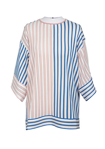 NEW,IN,STOCK,-,MOMO,ZIP,JUMPER,pink, blue, stripe, zip, jumper