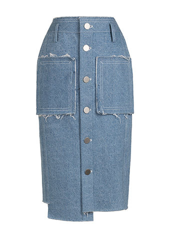 NEW,IN,STOCK,-,TANJA,DENIM,SKIRT,SS18, tanja, washed, light, denim, pencil, skirt