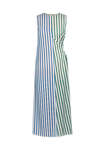 NEW,IN,STOCK,-,RUKA,DRESS,SS18, ruka, green, blue, stripe, dress