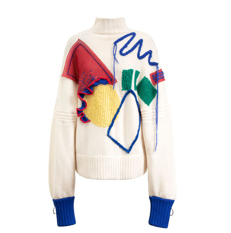 NEW,IN,STOCK-,ZACK,EMBROIDERY,JUMPER,WHITE, CASHMERE