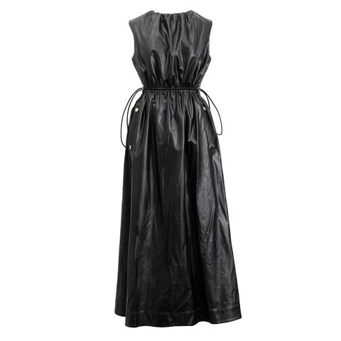 NEW,IN,STOCK,-CHLOE,DRESS,MAN MADE LEATHER