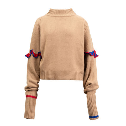 NEW,IN,STOCK-RUKA,JUMPER,BEIGE,CASHMERE