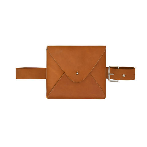 NEW,IN,STOCK,-LIN,WAIST,BAG,WAIST BAG,COW LEATHER